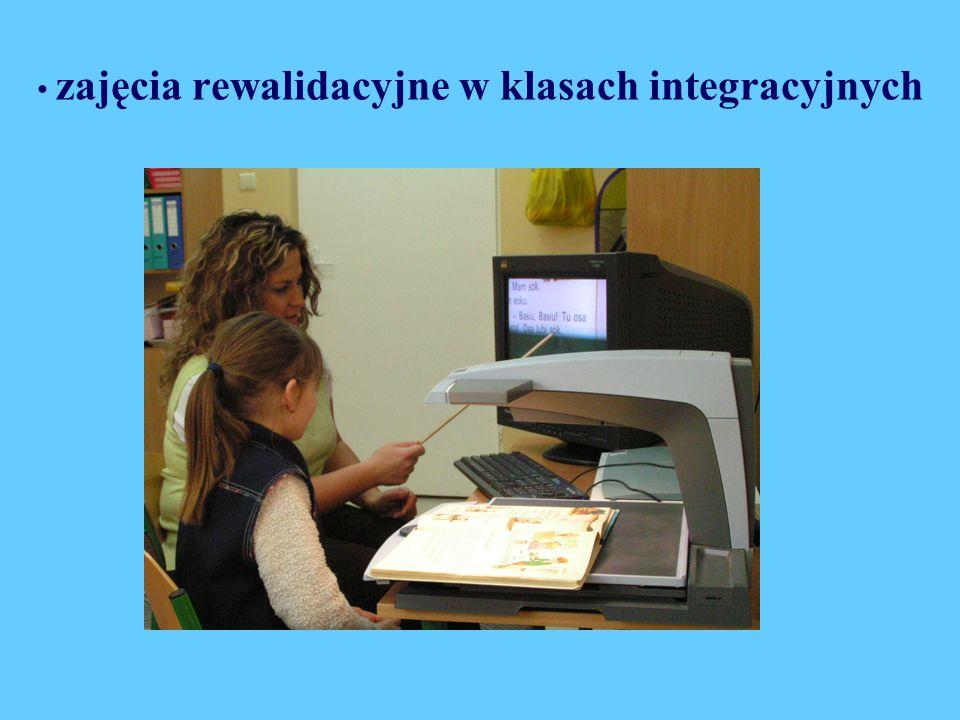 zajęcia rewalidacyjne w klasach integracyjnych