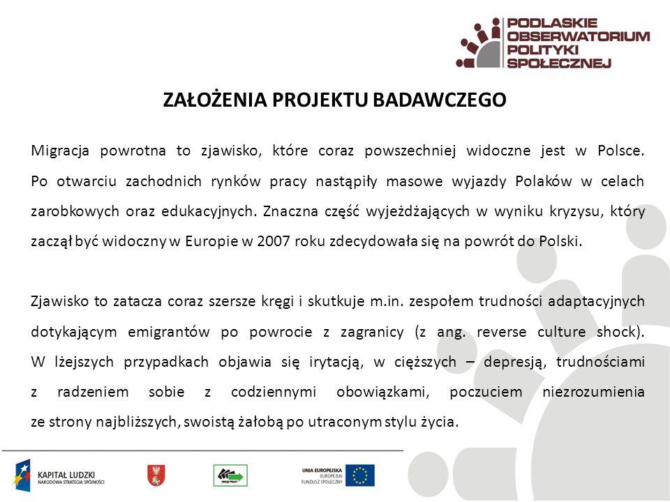 Migracja powrotna to zjawisko, które coraz powszechniej widoczne jest w Polsce. Po otwarciu zachodnich rynków pracy nastąpiły masowe wyjazdy Polaków w