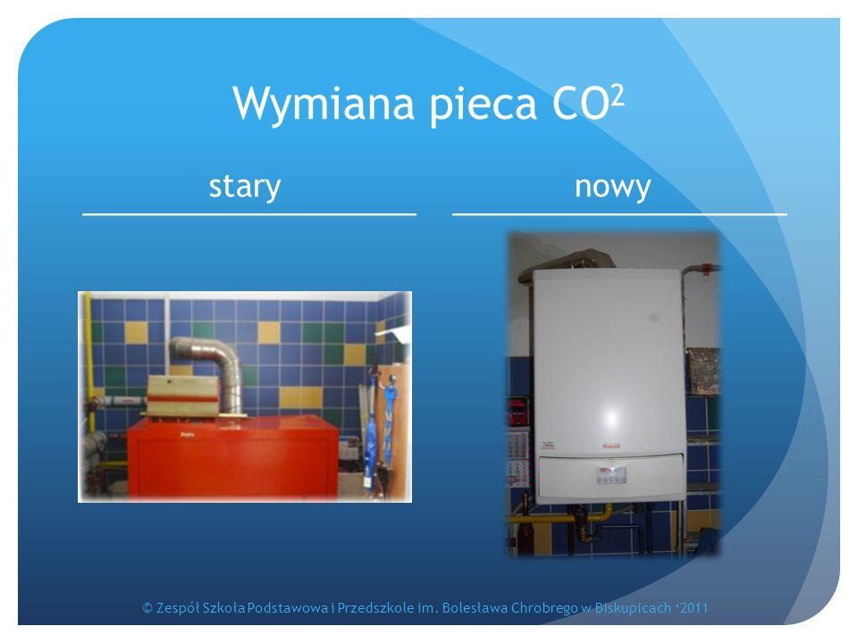Wymiana pieca CO 2 starynowy © Zespół Szkoła Podstawowa i Przedszkole im. Bolesława Chrobrego w Biskupicach '2011