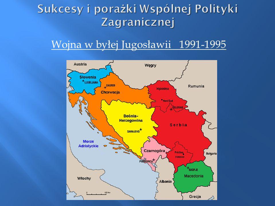 Wojna w byłej Jugosławii 1991-1995