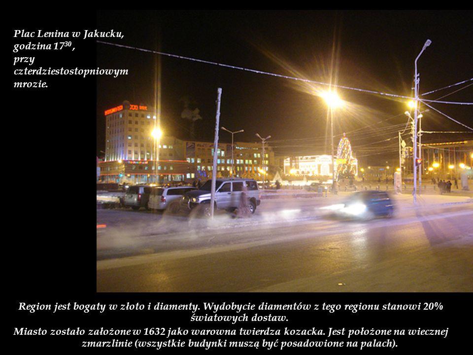 Region Jakucji został po raz pierwszy zdobyty przez Rosjan w 1630 roku.