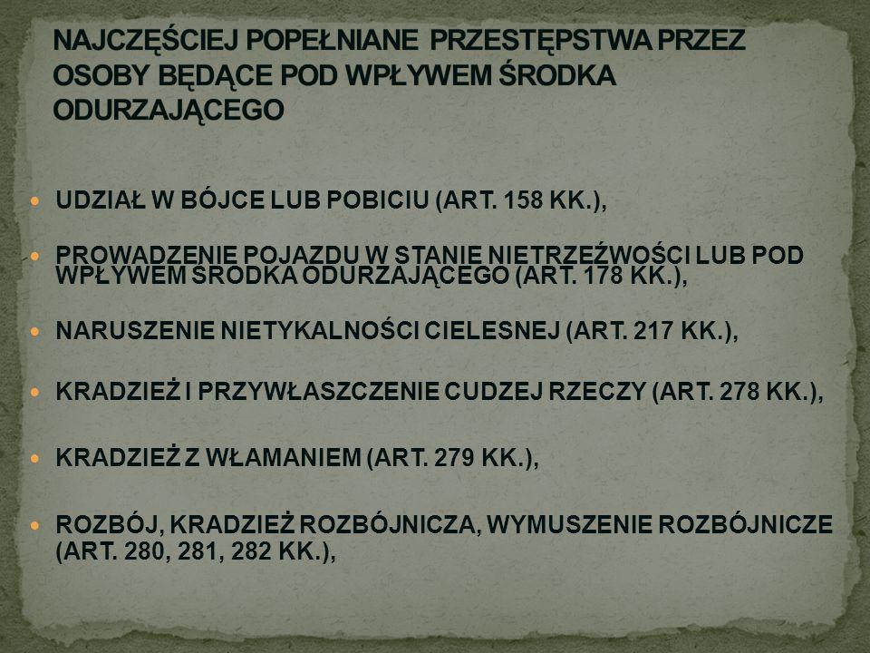 UDZIAŁ W BÓJCE LUB POBICIU (ART.