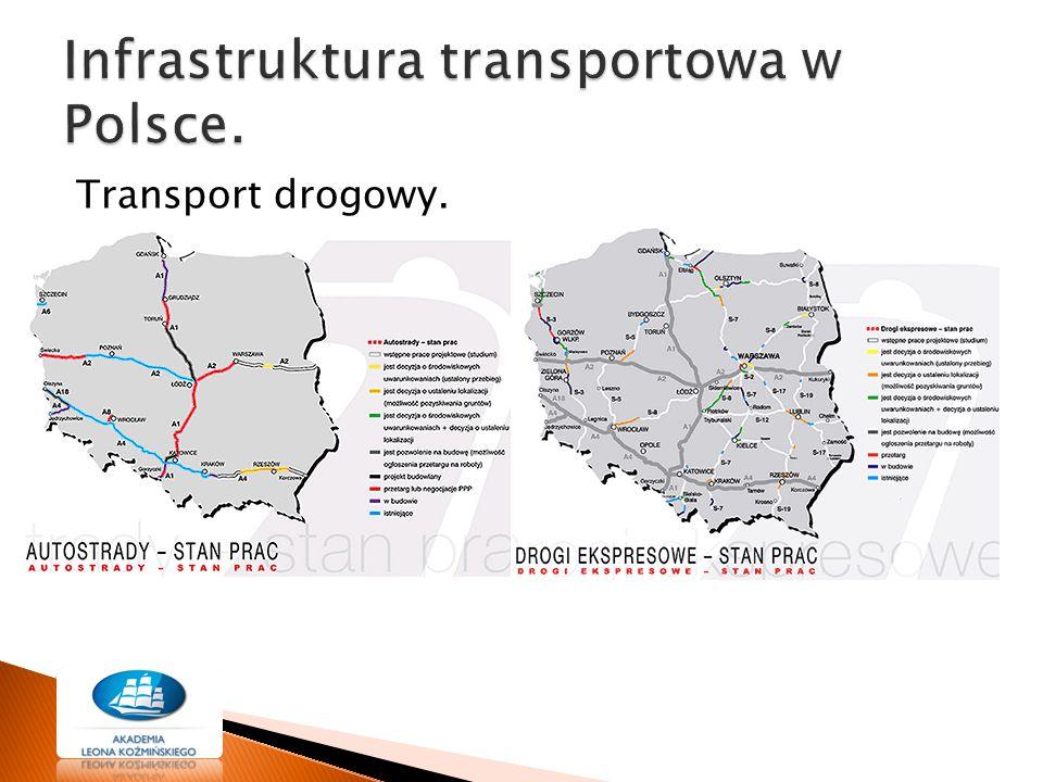 Transport drogowy.