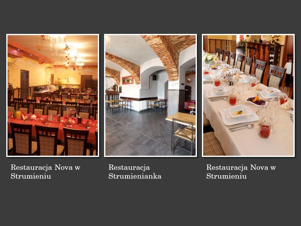 Restauracja Nova w Strumieniu Restauracja Strumienianka Restauracja Nova w Strumieniu