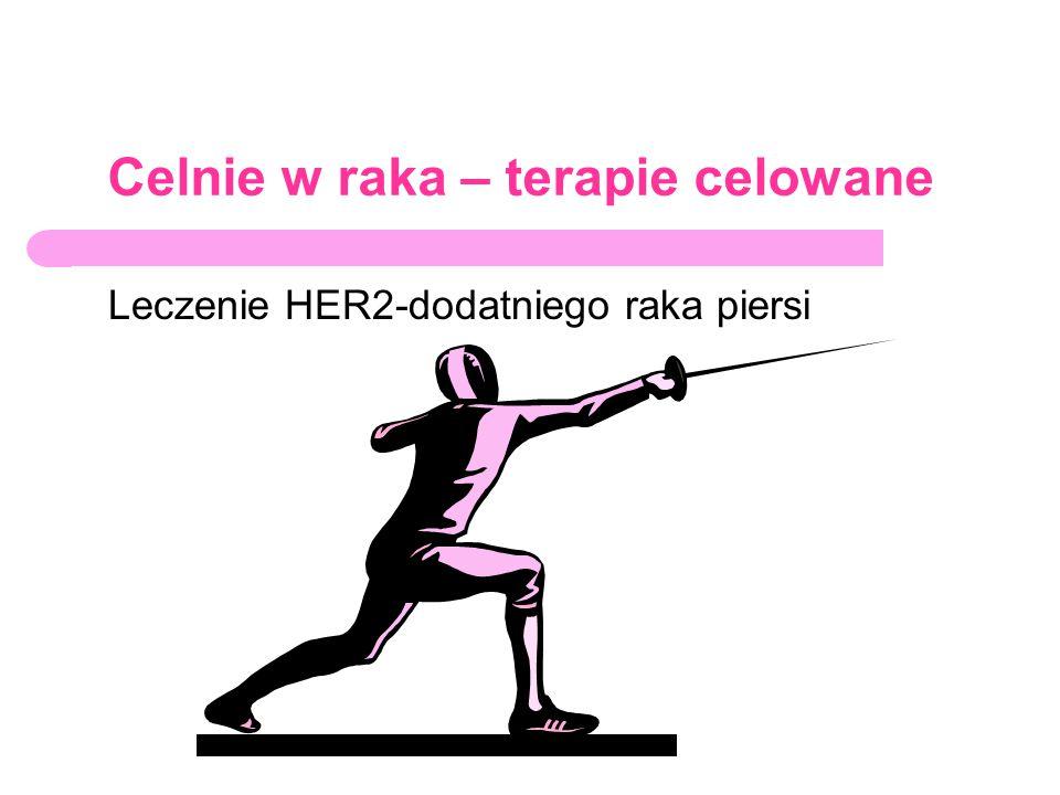Celnie w raka – terapie celowane Leczenie HER2-dodatniego raka piersi