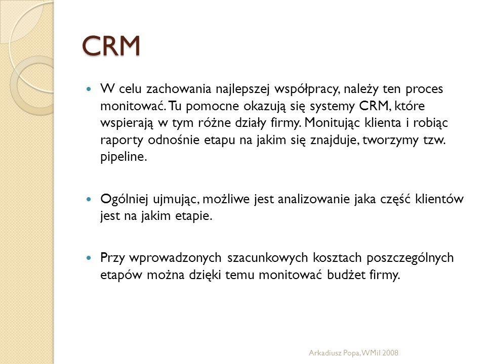 CRM W celu zachowania najlepszej współpracy, należy ten proces monitować. Tu pomocne okazują się systemy CRM, które wspierają w tym różne działy firmy