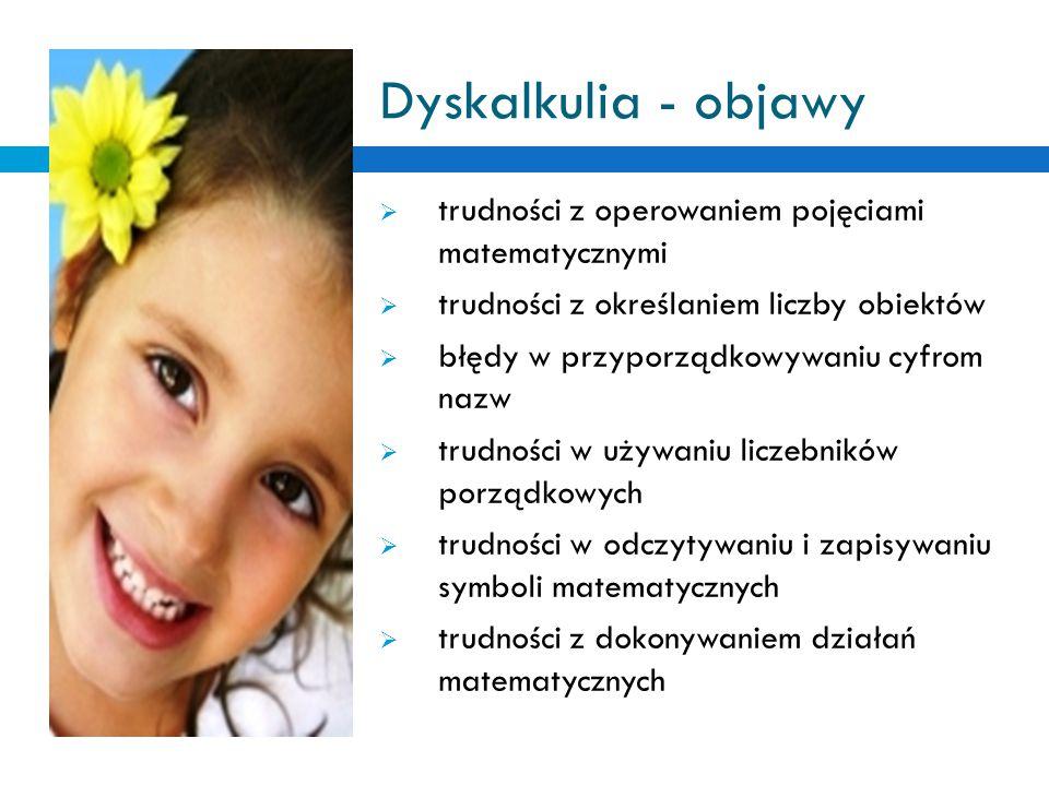 Diagnoza 1.Medyczna: - wykluczenie wad wzroku i słuchu, niedowładów jako przyczyny trudności 2.