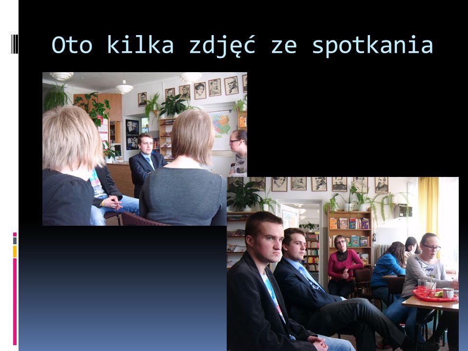 Oto kilka zdjęć ze spotkania. ..
