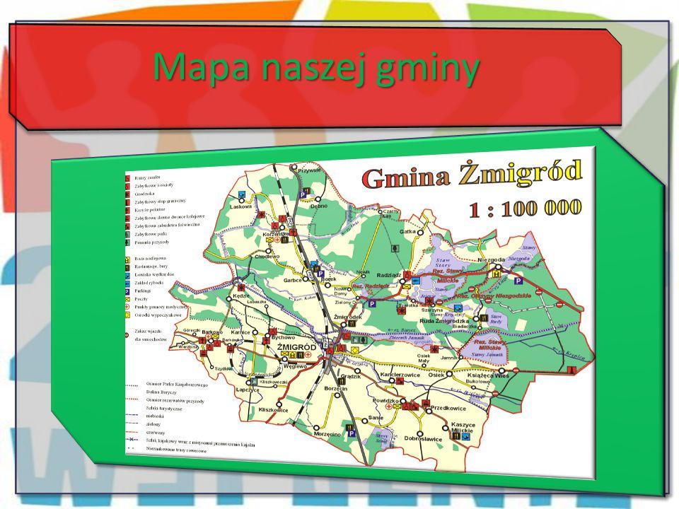 Mapa naszej gminy