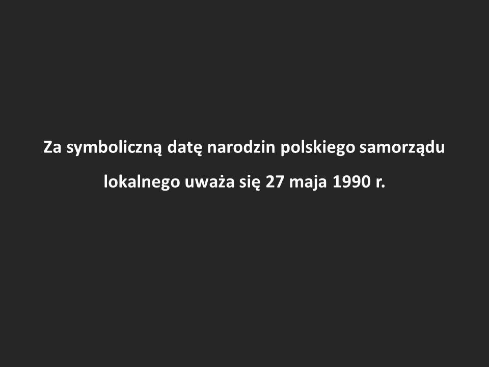 Tego dnia odbyły się pierwsze w powojennej historii Polski całkowicie wolne wybory do władz lokalnych.
