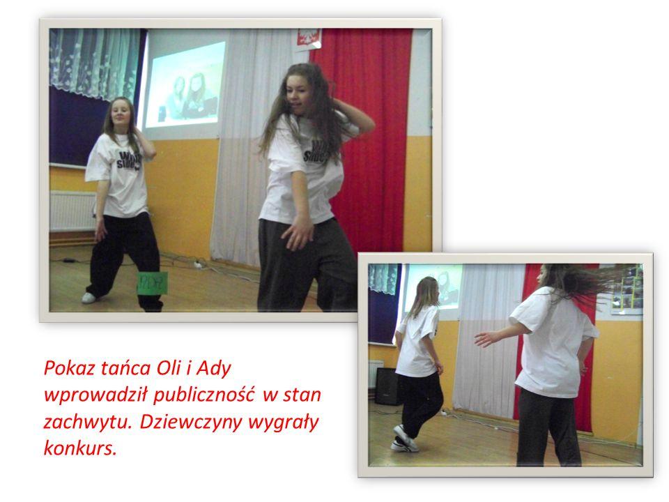 Pokaz tańca Oli i Ady wprowadził publiczność w stan zachwytu. Dziewczyny wygrały konkurs.