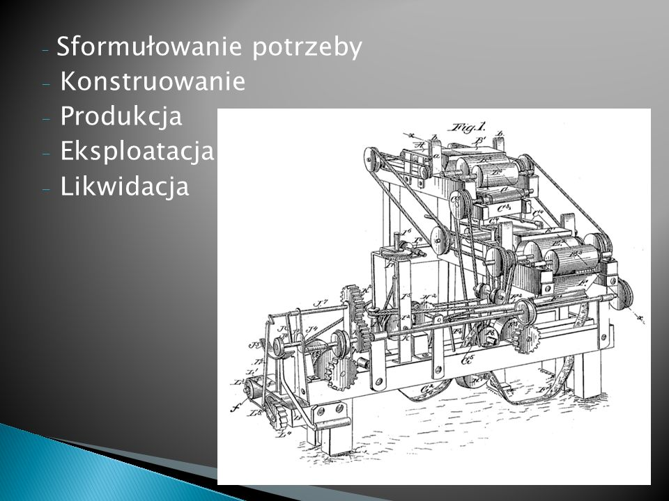 Projektowanie obiektu technicznego, polega na tworzeniu modelu tego obiektu, umożliwiającego jego bezpośrednią realizację.