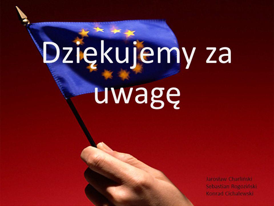Dziękujemy za uwagę Jarosław Charliński Sebastian Rogoziński Konrad Cichalewski
