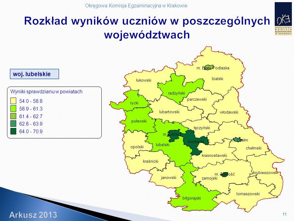 Okręgowa Komisja Egzaminacyjna w Krakowie 11 woj.