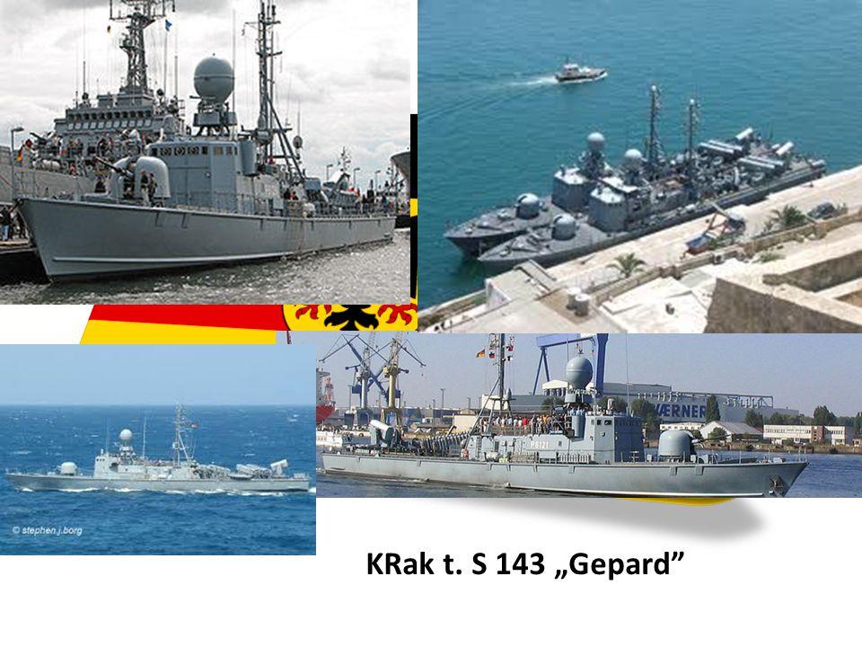 """KRak t. S 143 """"Gepard"""""""