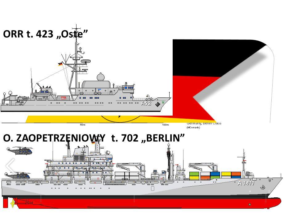 """O. ZAOPETRZENIOWY t. 702 """"BERLIN"""" ORR t. 423 """"Oste"""""""