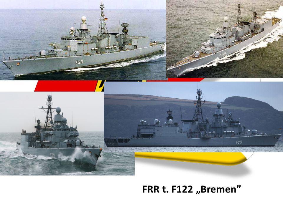 """FRR t. F122 """"Bremen"""""""
