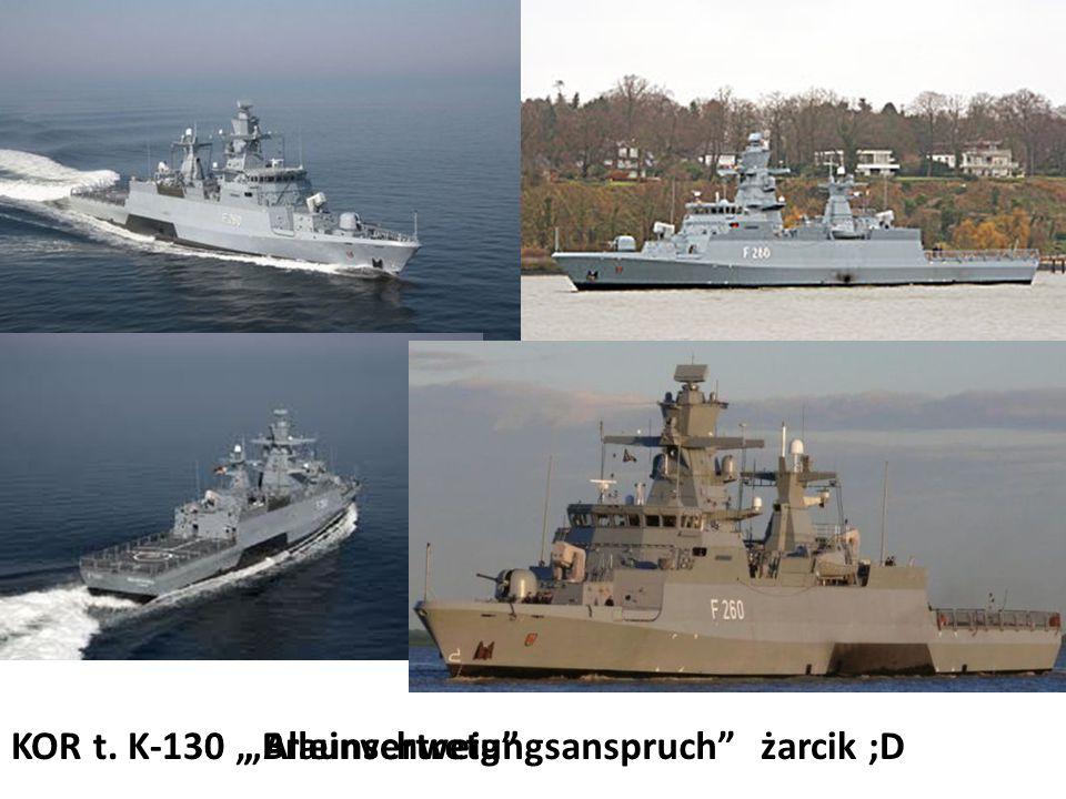 """KOR t. K-130"""" Alleinvertretungsanspruch""""żarcik ;D""""Braunschweig"""""""