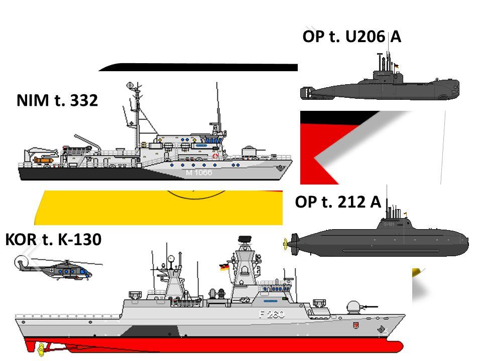 OP t. U206 A KOR t. K-130 NIM t. 332 OP t. 212 A