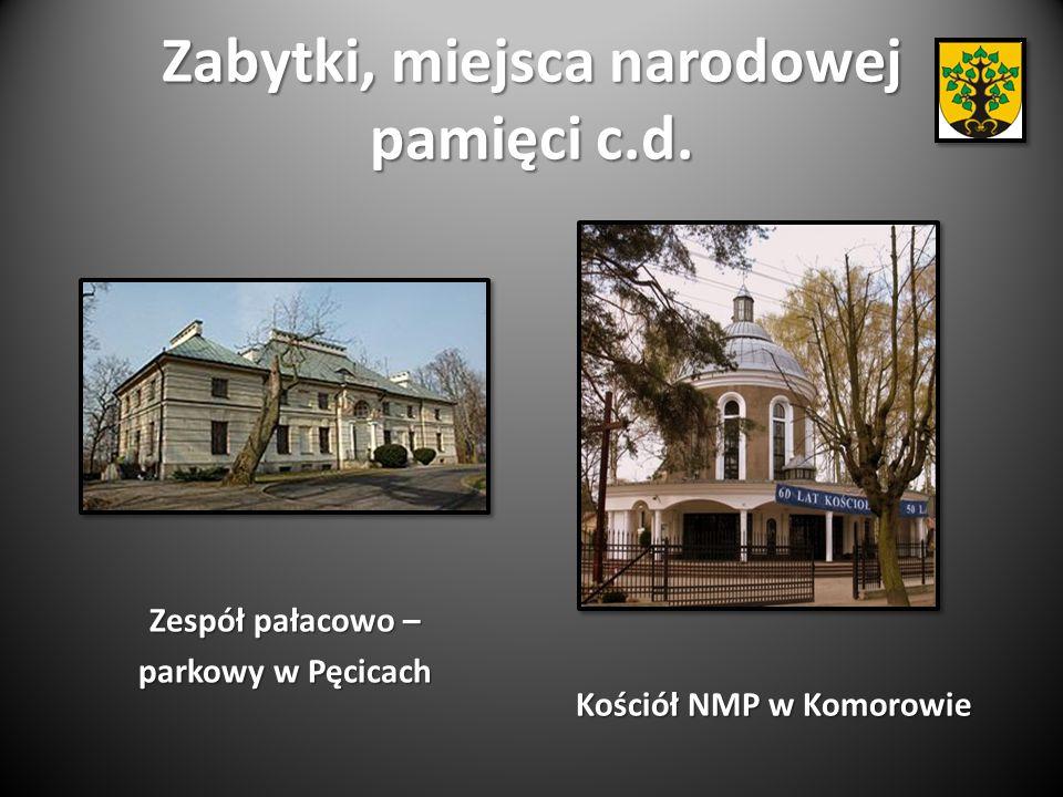 Zabytki, miejsca narodowej pamięci c.d.