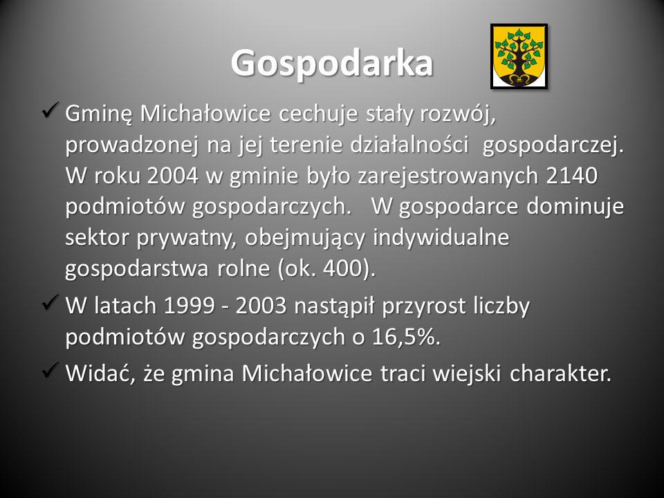Gospodarka Gminę Michałowice cechuje stały rozwój, prowadzonej na jej terenie działalności gospodarczej.