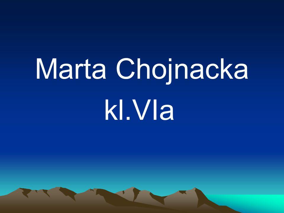 Marta Chojnacka kl.VIa