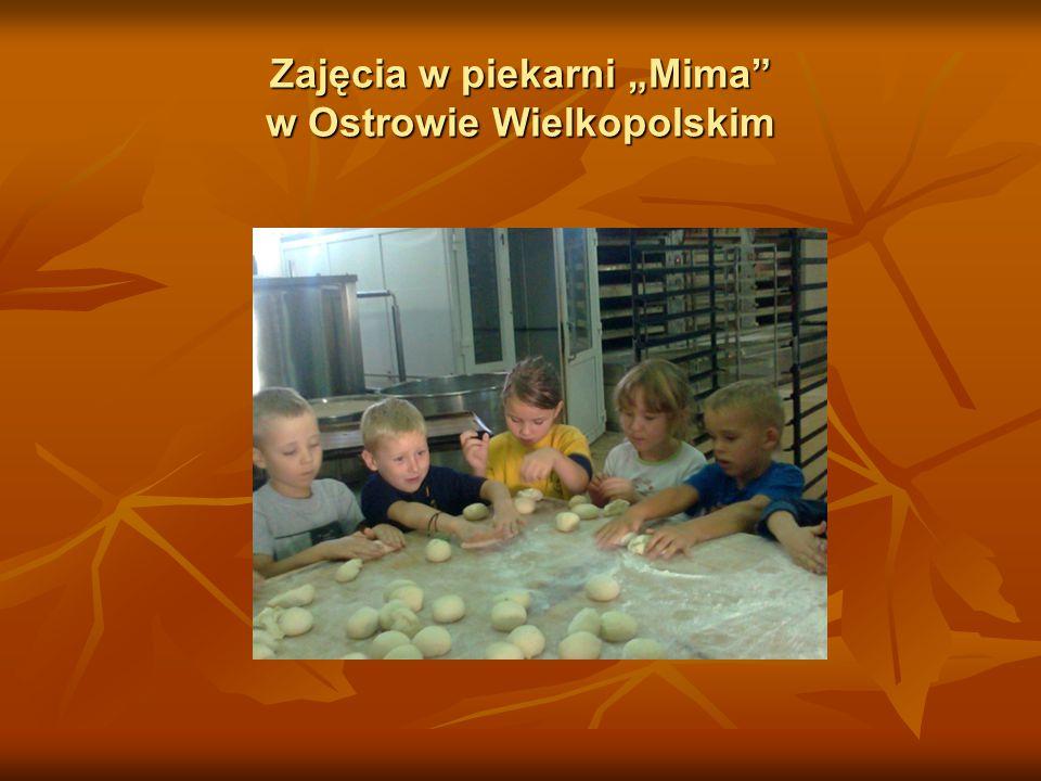 """Zajęcia w piekarni """"Mima"""" w Ostrowie Wielkopolskim"""
