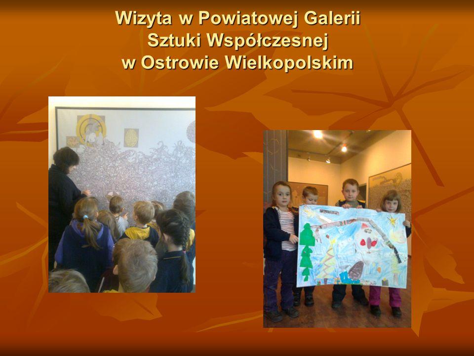 Wizyta w Powiatowej Galerii Sztuki Współczesnej w Ostrowie Wielkopolskim