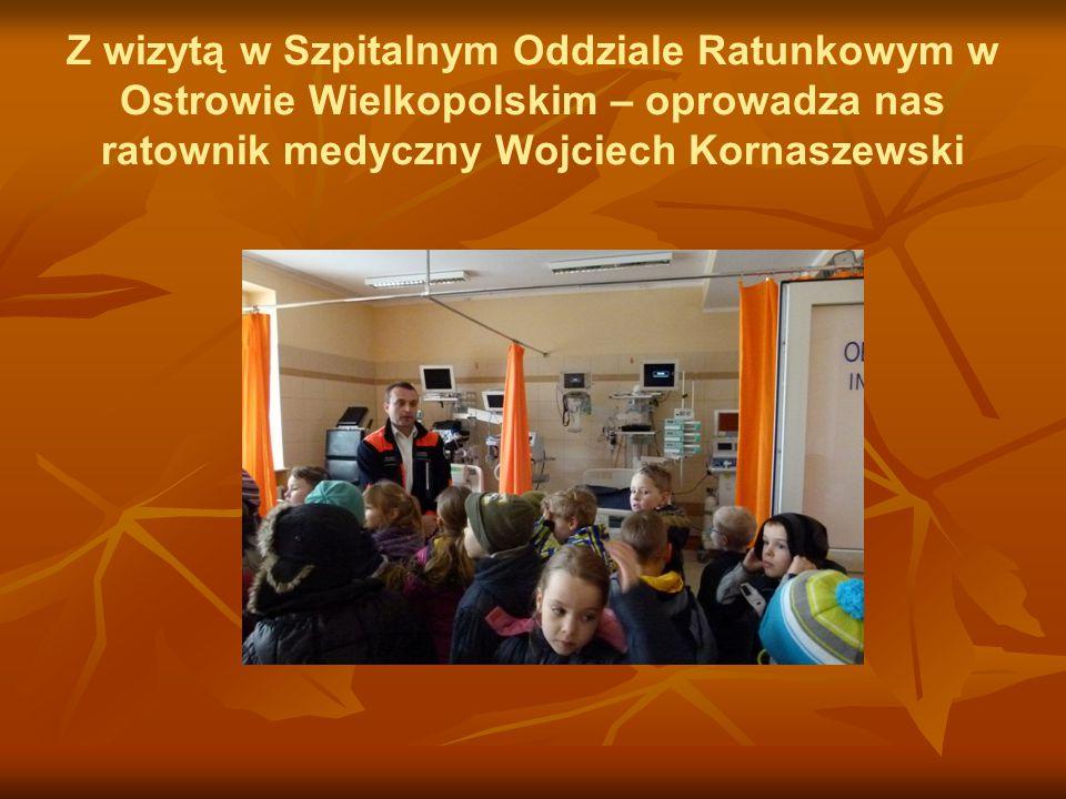 Z wizytą w Szpitalnym Oddziale Ratunkowym w Ostrowie Wielkopolskim – oprowadza nas ratownik medyczny Wojciech Kornaszewski