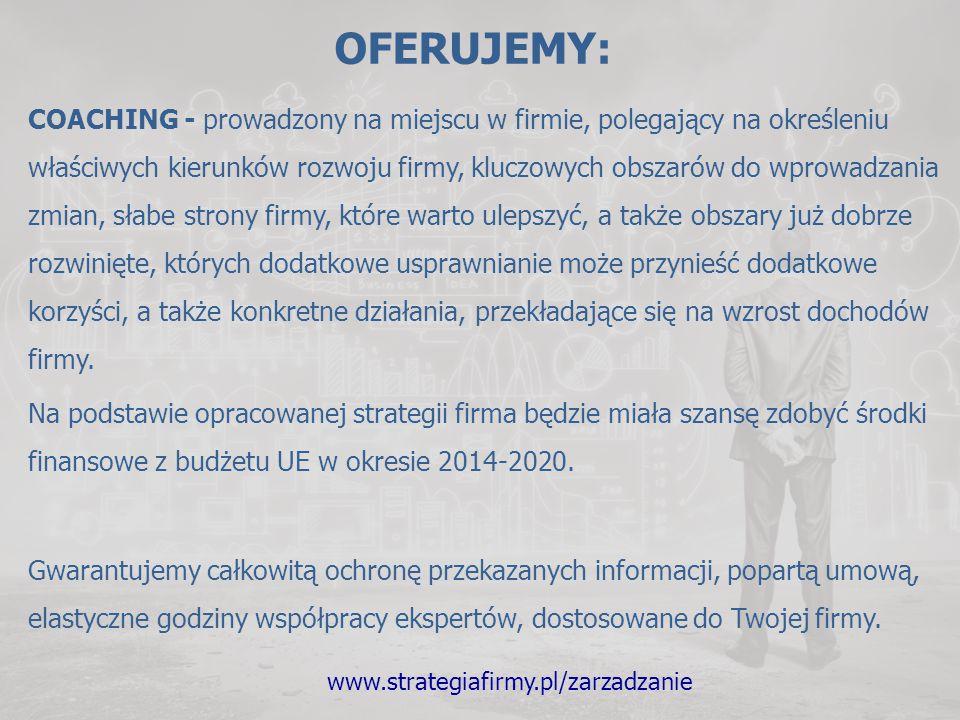 www.strategiafirmy.pl/zarzadzanie PLAN DZIAŁAŃ 1.