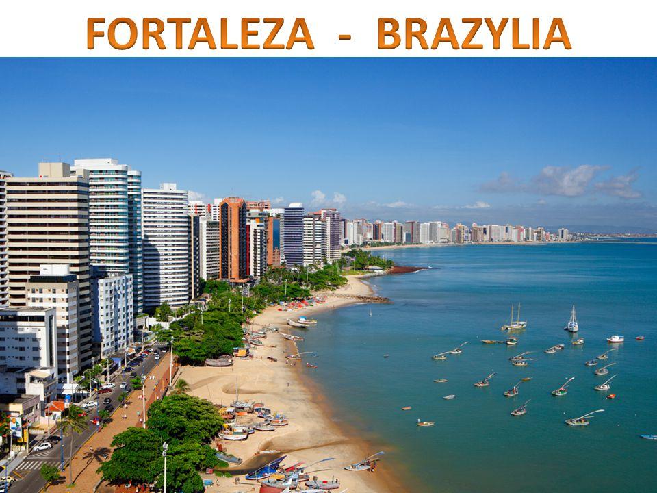 Fortaleza znajduje się: 6:30h lotu z USA (Miami) 6:30h lotu z Europy (Lizbony)