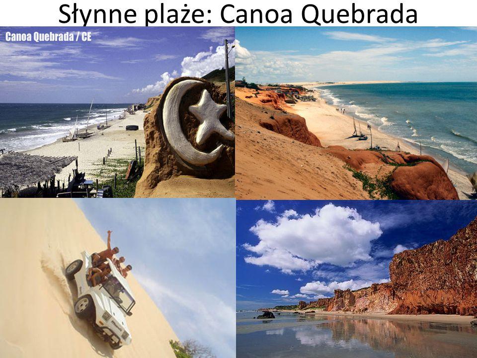 Słynne plaże: Canoa Quebrada