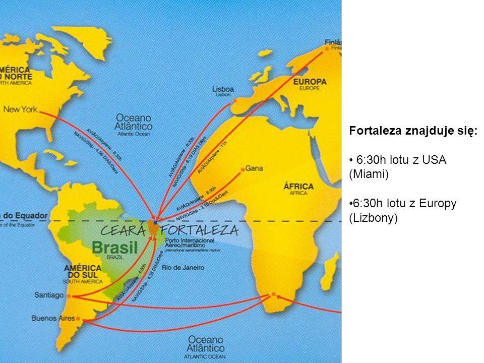 FORTALEZA: Jest miastem Ameryki Południowej, które leży najbliżej Europy.