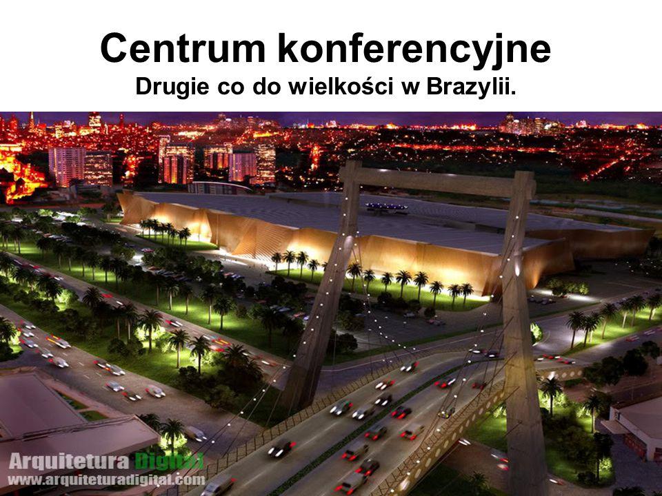 Centrum konferencyjne Drugie co do wielkości w Brazylii.