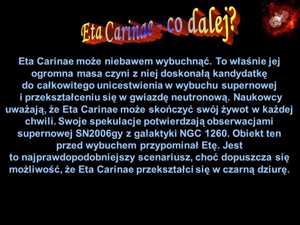 Eta Carinae może niebawem wybuchnąć.