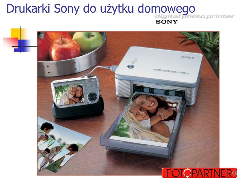 DPP-FP30 – Jesień 2004 Szybka i wygodna obsługa Oparta na PictBridge Do użytku domowego Dobra jakość (300 dpi) Współpraca z PC (USB) Cena 599 brutto (det.) Oferta Targowa: DSC-V3 + printer gratis
