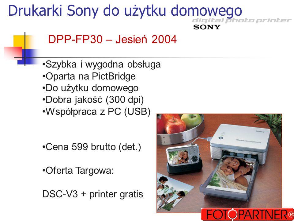 Nośniki flash w aparatach MS, CF CF, SD SDCFSDxDxD 70-80% aparatów obsługuje bezpośrednio Poprzez przjściówkę CF Nowość
