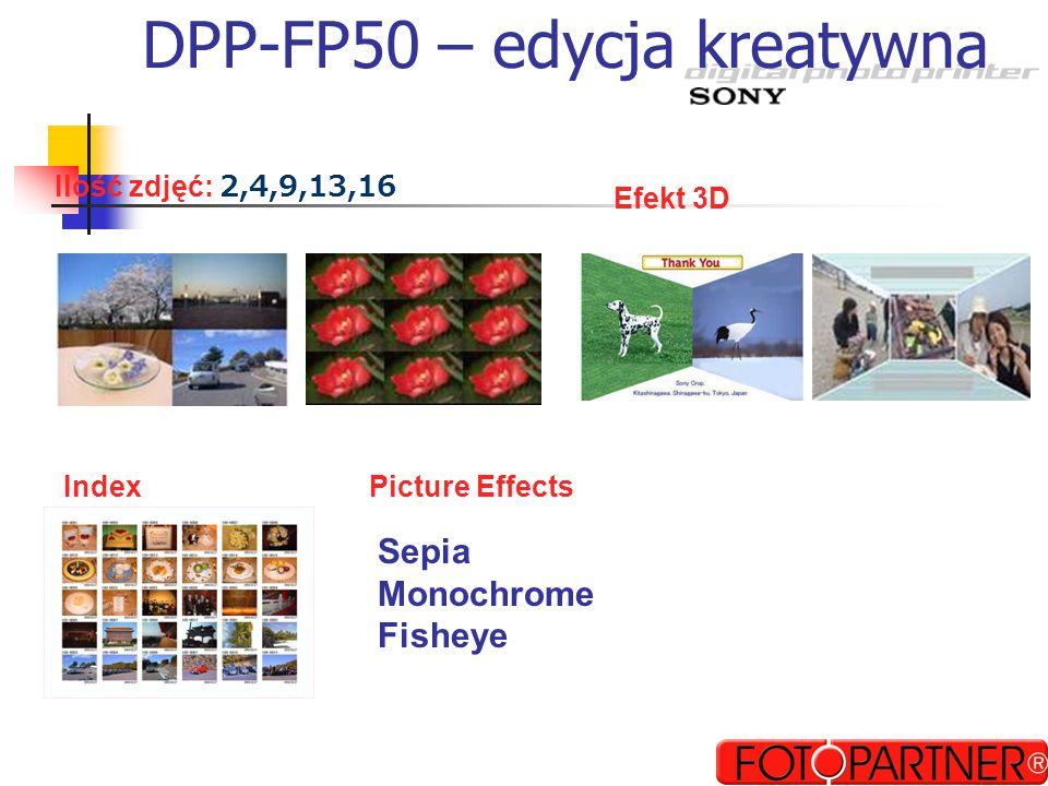 Drukarka Sony DPP-EX50 DPP-EX50 Najwyższa jakość odbitki term.