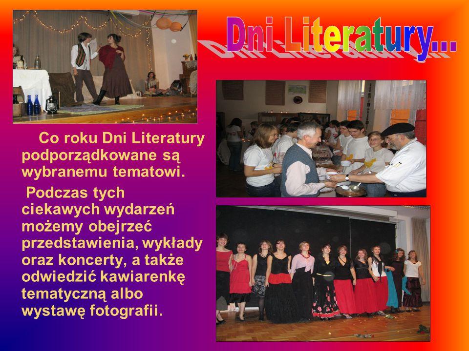 Co roku Dni Literatury podporządkowane są wybranemu tematowi.