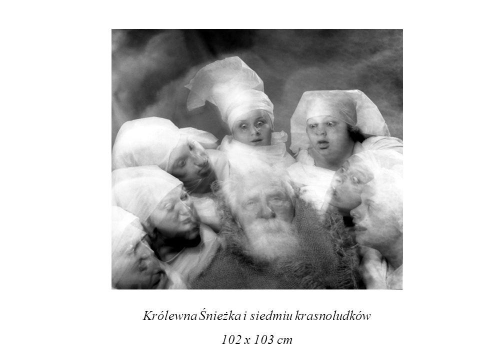 Królewna Śnieżka i siedmiu krasnoludków 102 x 103 cm