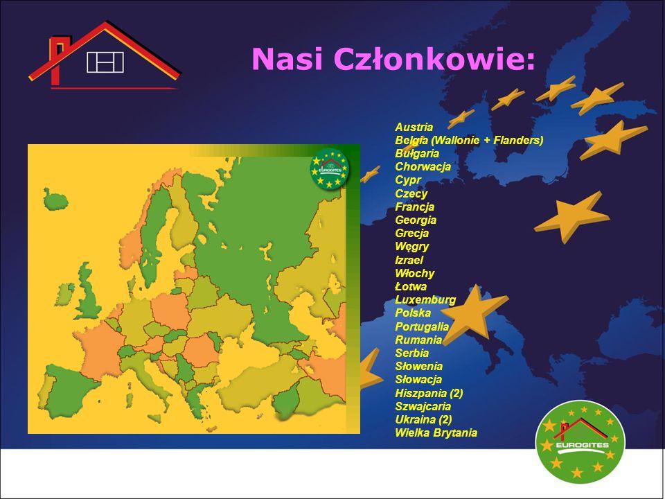 Nasi Członkowie: Austria Belgia (Wallonie + Flanders) Bułgaria Chorwacja Cypr Czecy Francja Georgia Grecja Węgry Izrael Włochy Łotwa Luxemburg Polska Portugalia Rumania Serbia Słowenia Słowacja Hiszpania (2) Szwajcaria Ukraina (2) Wielka Brytania