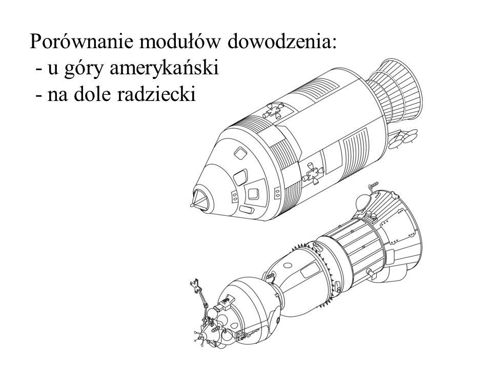 Porównanie rakiet nośnych: - u góry amerykańska Saturn 5 - na dole radziecka N1