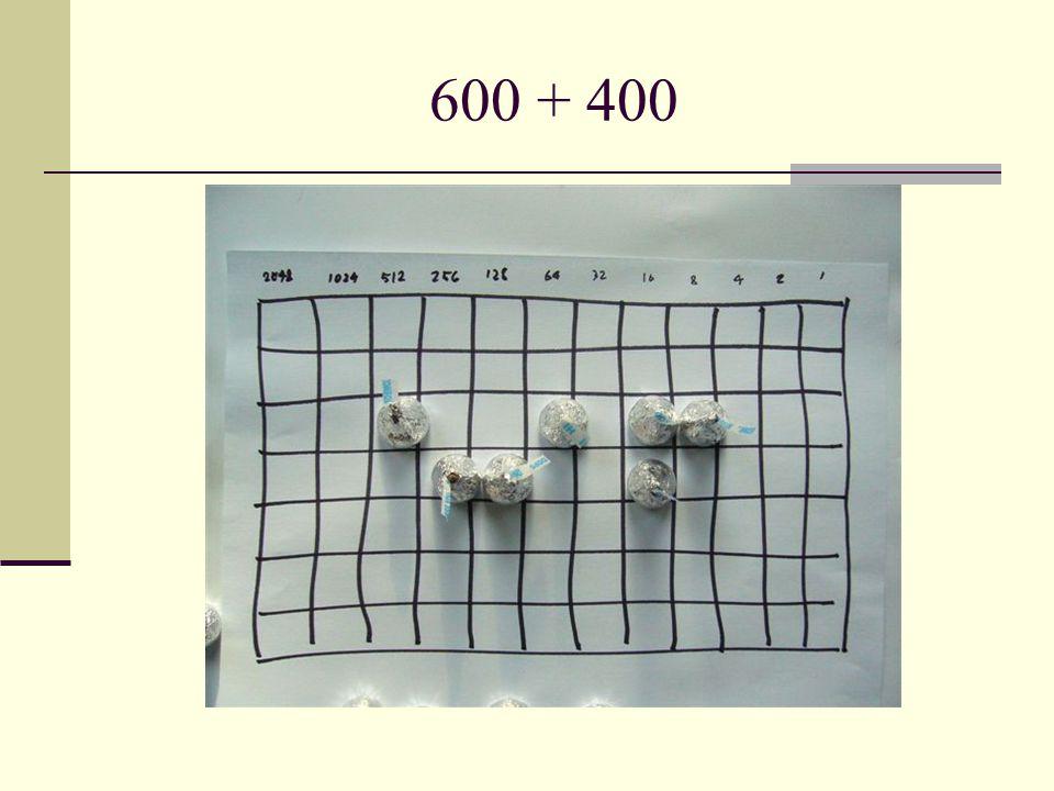 600 + 400