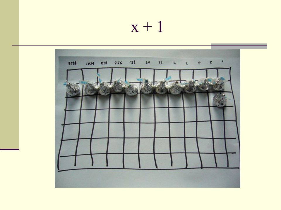 x + 1
