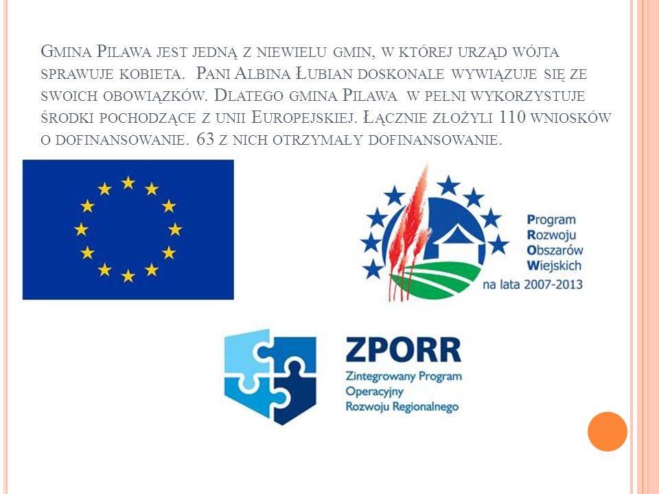 Z AGRAJMY O SUKCES Program operacyjny Kapitał Ludzki realizowany w Publicznym gimnazjum w Pilawie i Trąbkach.
