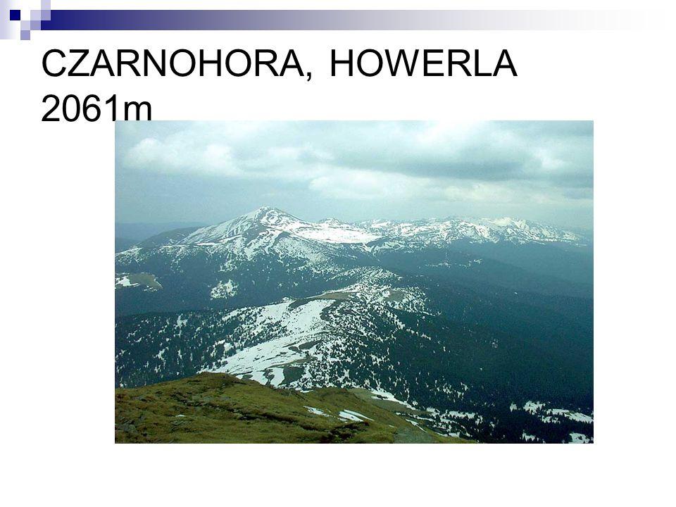 CZARNOHORA, HOWERLA 2061m