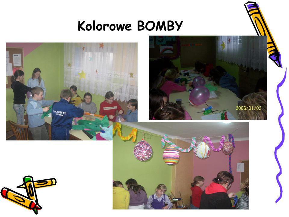 Kolorowe BOMBY