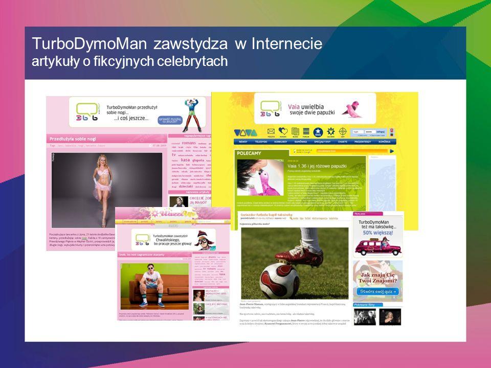 TurboDymoMan zawstydza w Internecie artykuły o fikcyjnych celebrytach