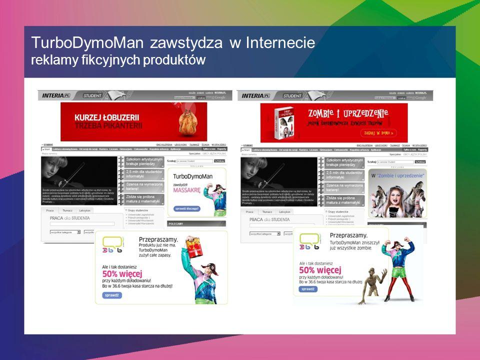 TurboDymoMan zawstydza w Internecie reklamy fikcyjnych produktów