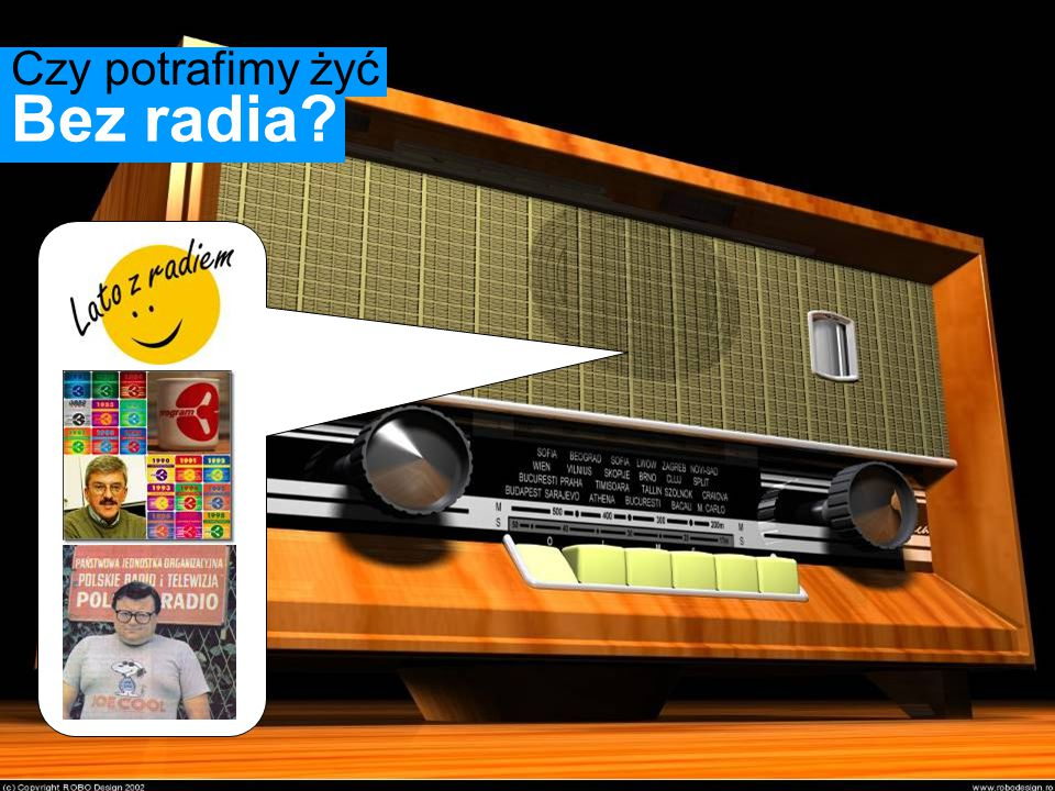 Bez radia Czy potrafimy żyć